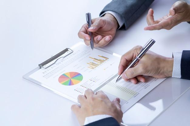 Bilanzanalyse für einen return on investment