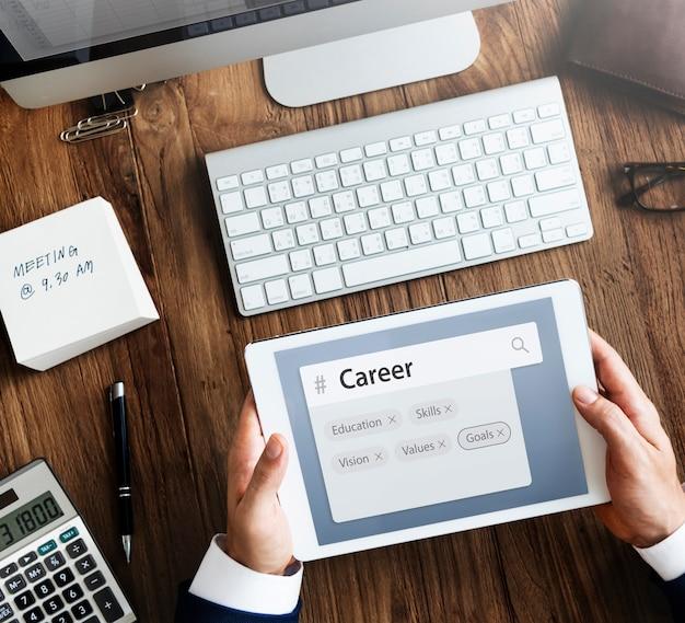 Bildung fähigkeiten rekrutierung wortsuche