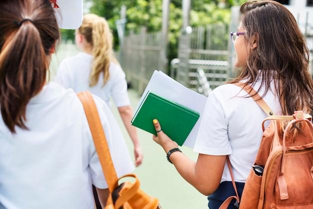 Bildungs-studenten-leute-wissens-konzept