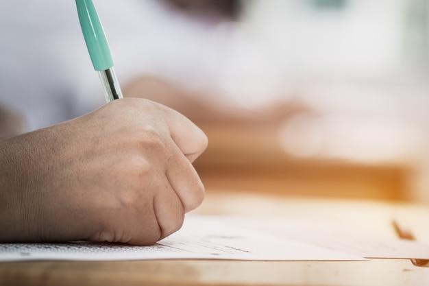 Bildungstest-konzept