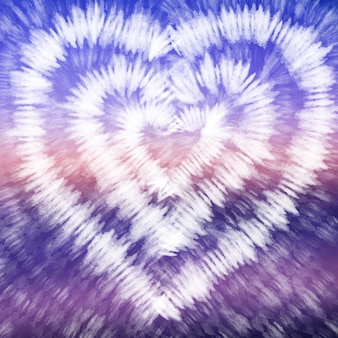 Binden sie den bunten weißen aquarellhintergrund des farbstoffs lila.