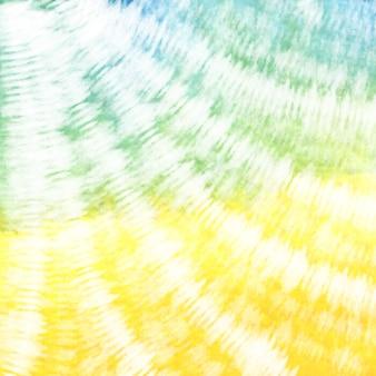 Binden sie farbstoff bunten weißen aquarellhintergrund.