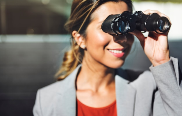 Binokularvision lösung beobachten konzept finden