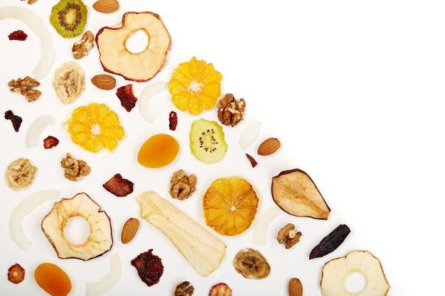 Bio gesundes getrocknetes obst für snacks