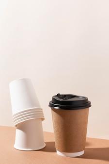 Bio papp pappbecher für kaffee