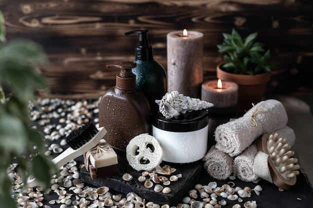 Bio-produkte für bad und spa