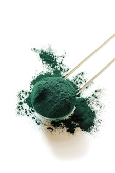 Bio-spirulina-pulver