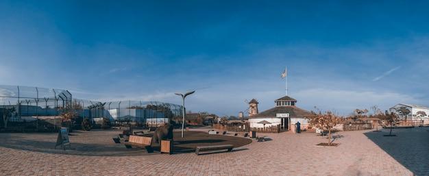 Biopark und zoo in odessa, ukraine