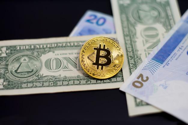 Bitcoin auf geld auf schwarz