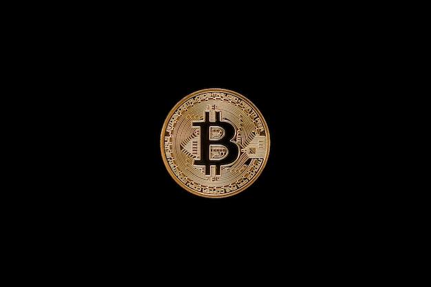 Bitcoin. das konzept der instabilität der kryptowährung,