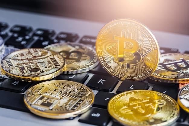 Bitcoin ist moderne bezahlung in der globalen wirtschaft.