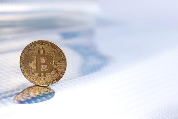 Bitcoin konzept hintergrund