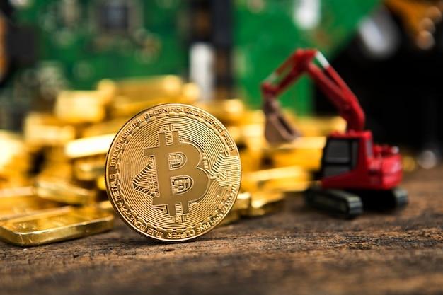 Bitcoin-konzept