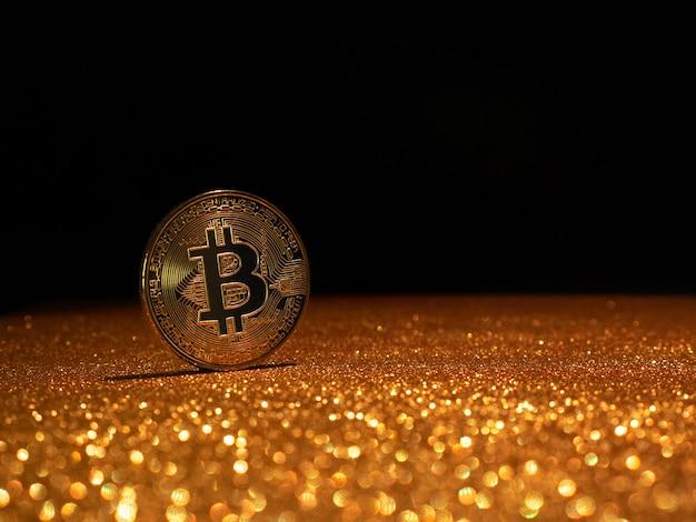 Bitcoin. kryptowährung gold bitcoin, btc.