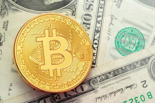 Bitcoin und dollar