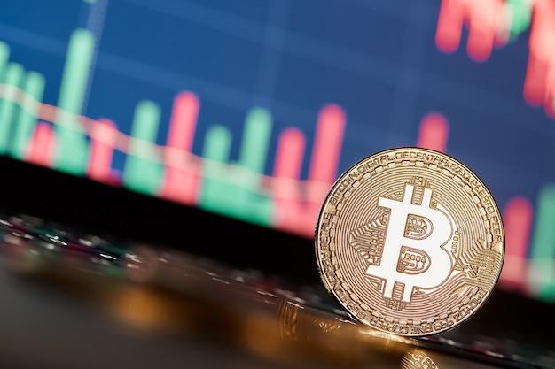 Bitcoins und neues virtuelles geldkonzept
