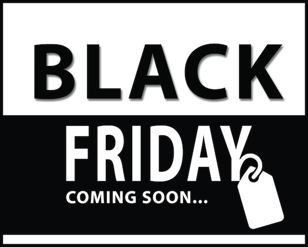 Black friday sale - weihnachtseinkaufskonzept