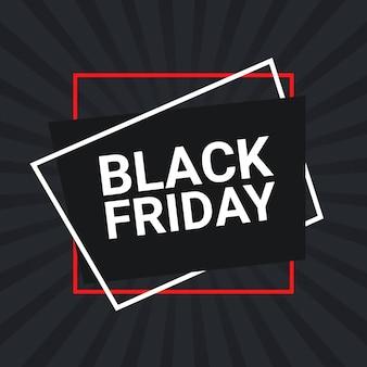 Black friday sales flyer design