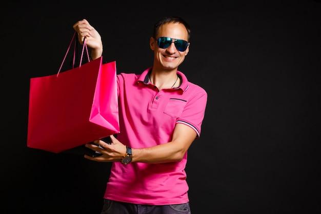 Black friday super sale shopping mann