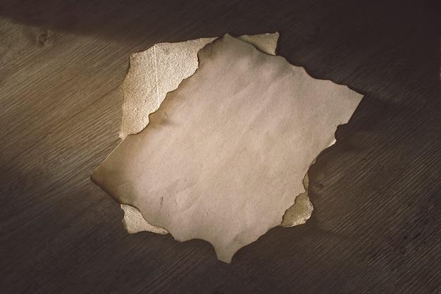 Blätter aus altem pergament