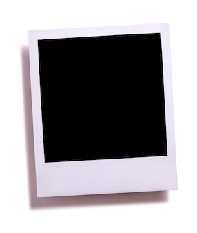 Blank instant kamera fotodruck