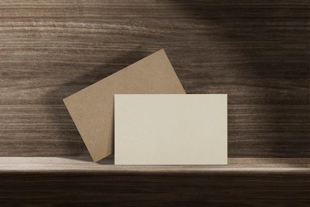 Blanko-visitenkarte nachhaltigkeit öko-industrie