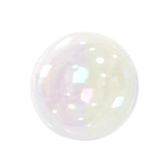 Blase lokalisiert auf weißem hintergrund