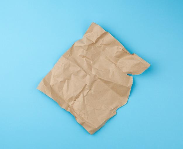 Blatt braunes kraftpapier
