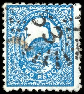 Blau emu stempel australia