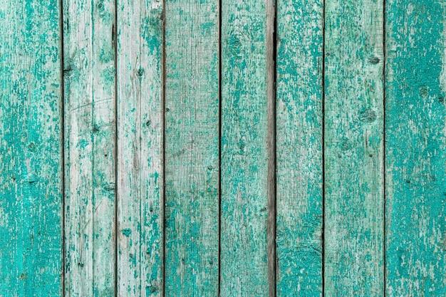 Blau lackierte holzbretter als hintergrund oder textur Premium Fotos