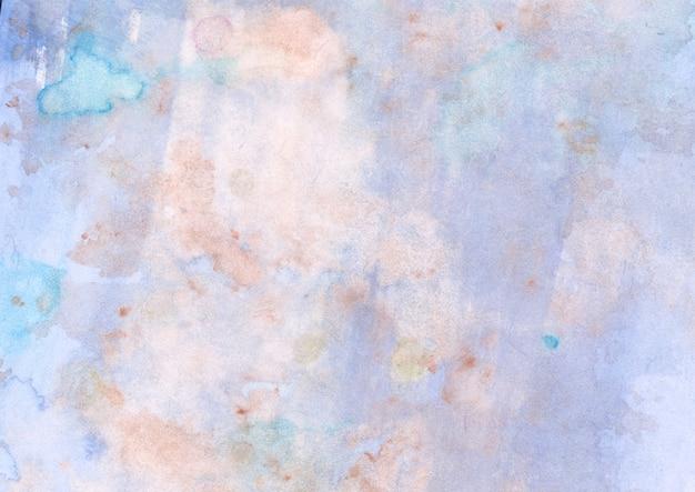Blau-orange textur