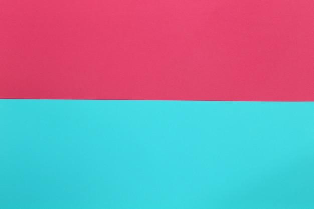 Blau und rosa des pappkunstpapiers.