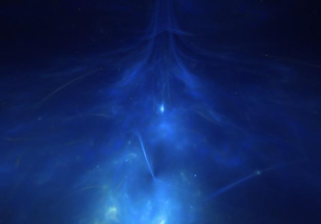 Blau universum raum tapete
