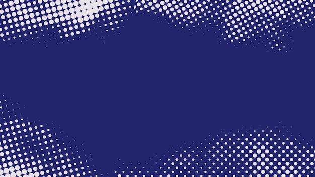 Blau-weißer halbtonhintergrund