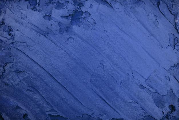 Blaubeer-eiscreme-textur. ansicht von oben. leckerer kühler genuss.