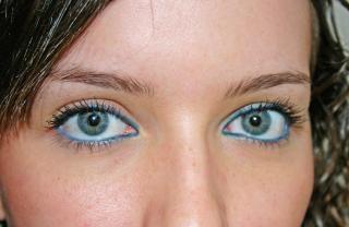 Blaue augen, blau