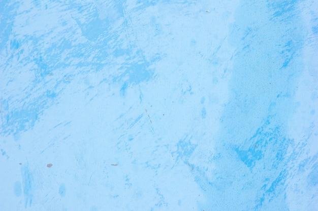 Blaue betonwand