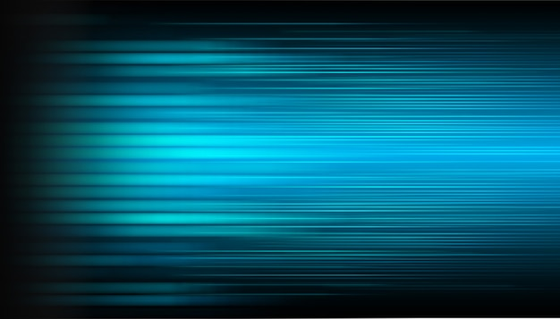 Blaue bewegung light abstract