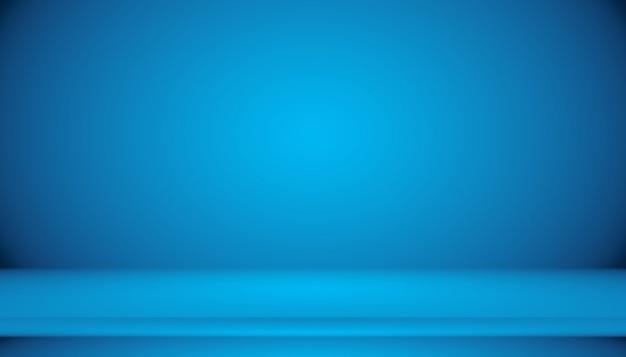 Blaue farbverlaufszusammenfassung