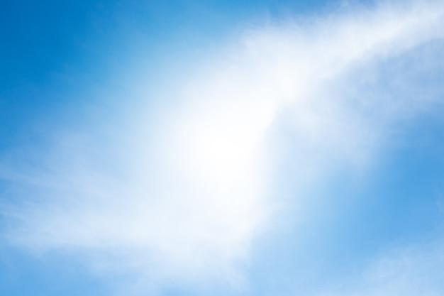 Blaue himmelswolke klar
