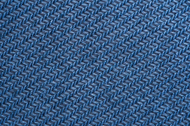 Blaue kleidergewebebeschaffenheit.