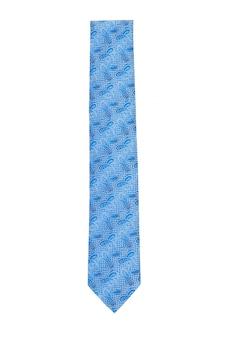 Blaue krawatte mit abstrakten design