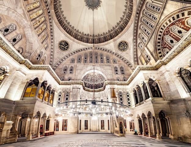 Blaue moschee interieur
