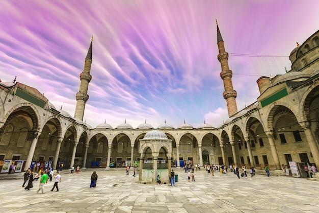 Blaue moschee sultan ahmet cami