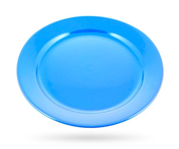 Blaue platte