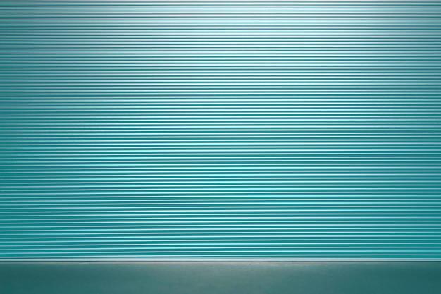 Blaue produktkulisse mit gemustertem glas