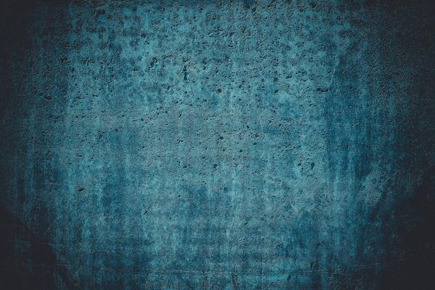 Blaue schmutzbeschaffenheit, leerer halbtonhintergrund. dunkle und tiefe farben