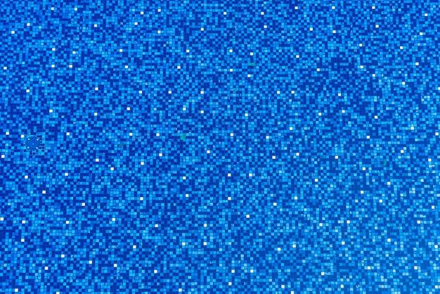 Blaue schwimmbadfliesenbeschaffenheit und kopierraum
