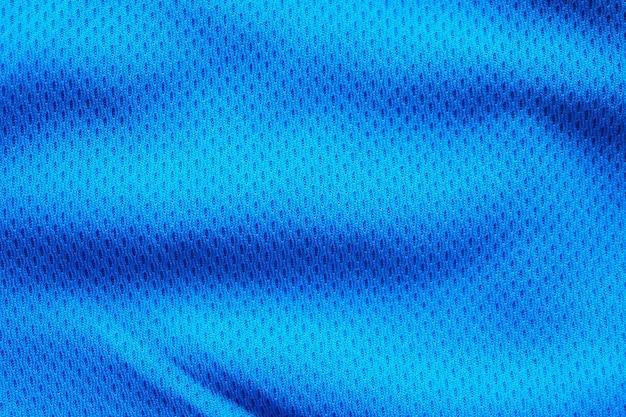 Blaue stoff sportbekleidung textur