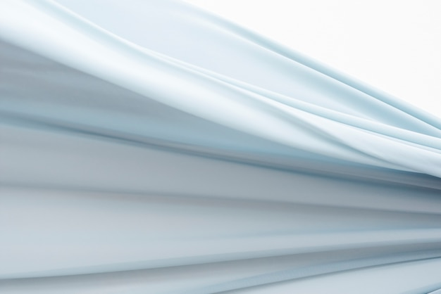 Blaue stoffbewegungsbeschaffenheit